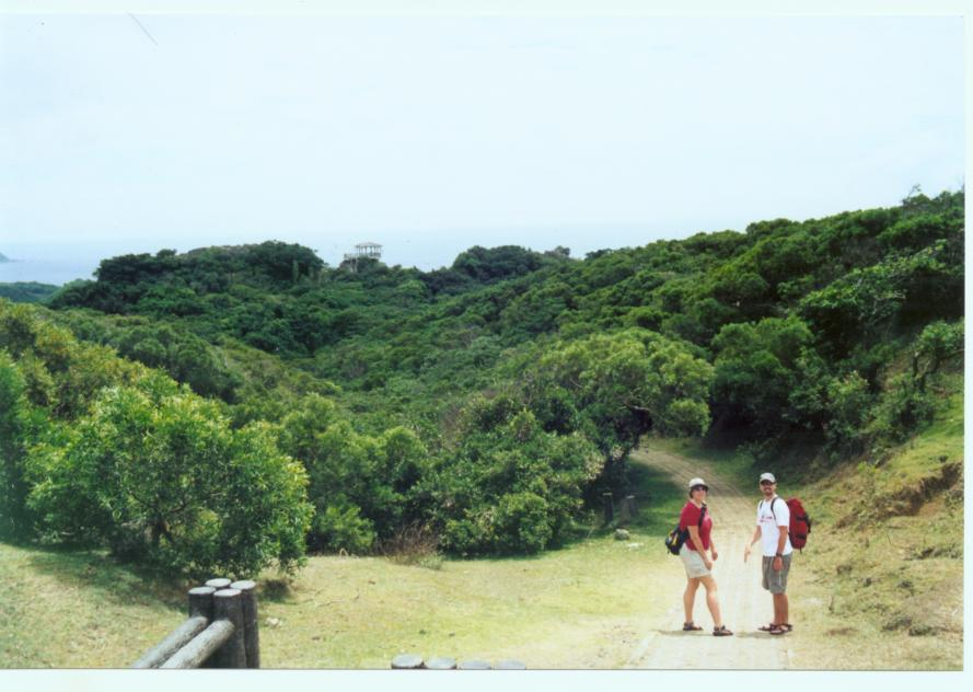 This was a small hike we did with Kim's parents in Kenting National Park.