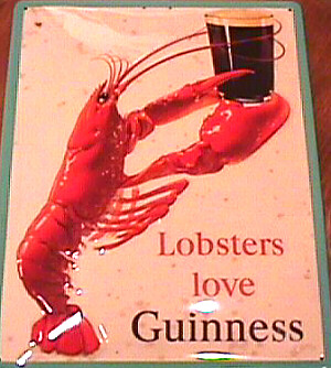 A Maritime Special..Guinness and Lobster!